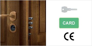 Porte blindate di Sicurezza EGIDA100C